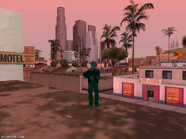 GTA San Andreas weather ID -293 at 14 hours