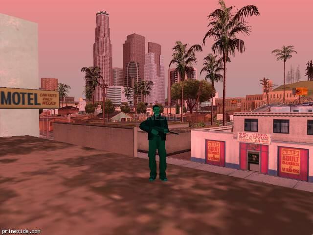 GTA San Andreas weather ID 219 at 15 hours