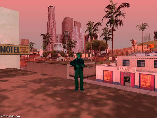 GTA San Andreas weather ID -805 at 16 hours