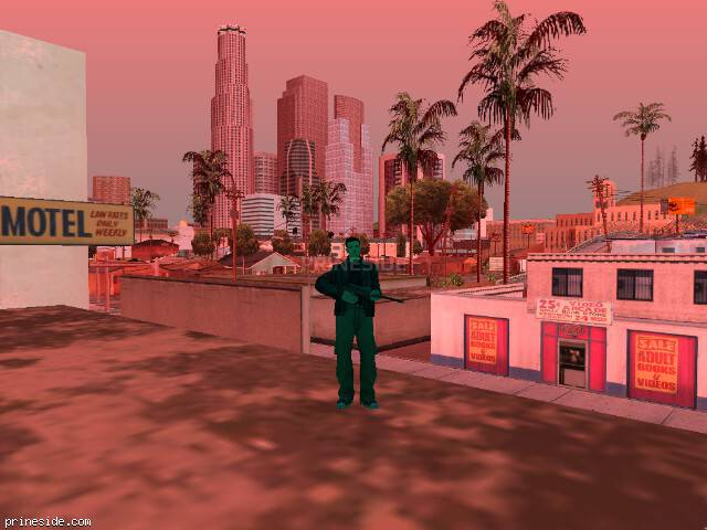GTA San Andreas weather ID -293 at 17 hours