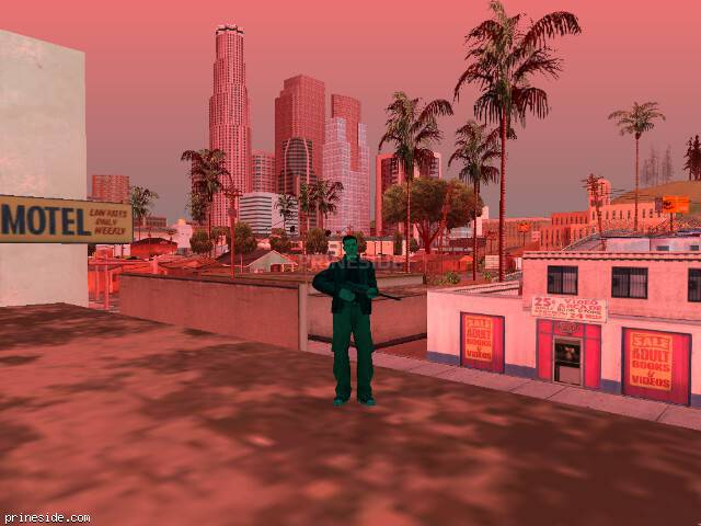 GTA San Andreas weather ID 731 at 18 hours