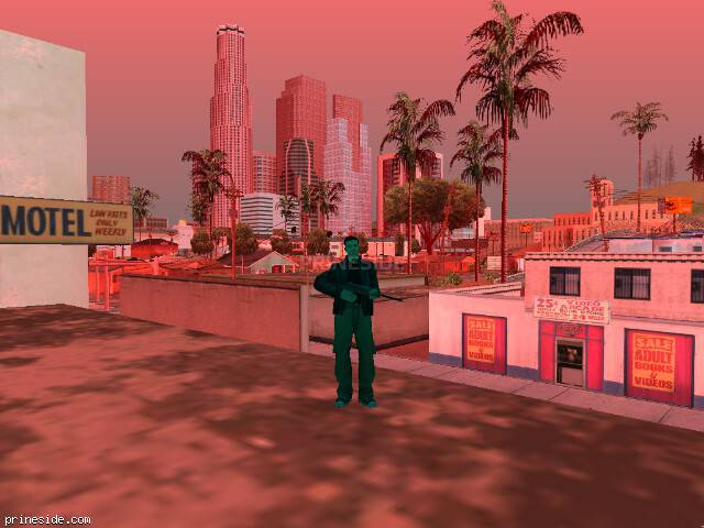 GTA San Andreas weather ID -293 at 19 hours