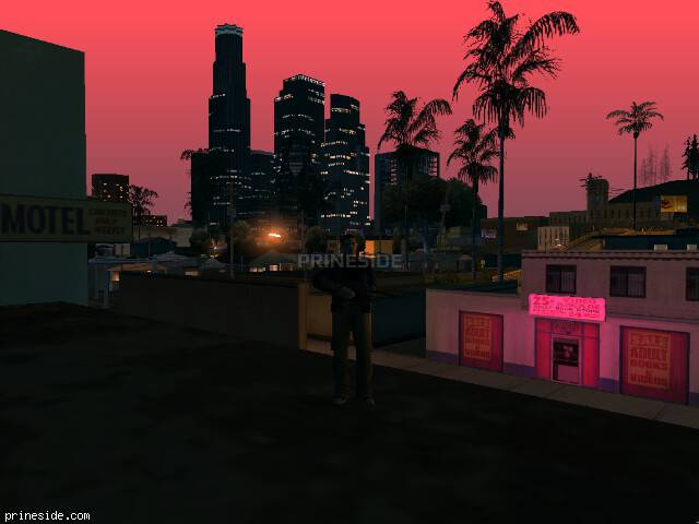 GTA San Andreas weather ID -293 at 4 hours
