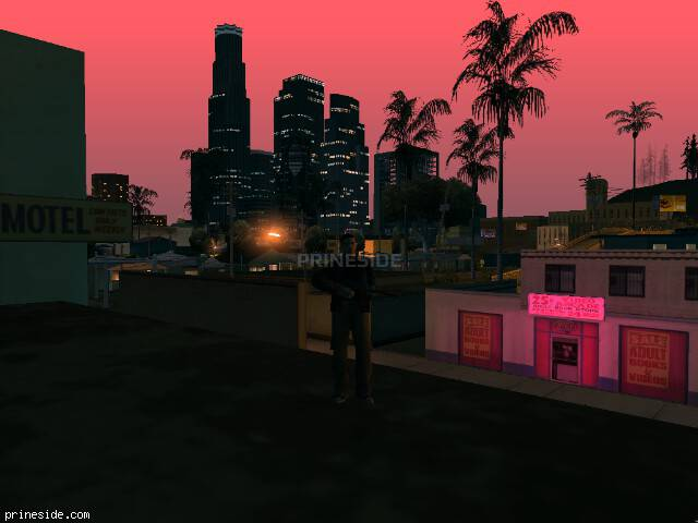GTA San Andreas weather ID 731 at 5 hours
