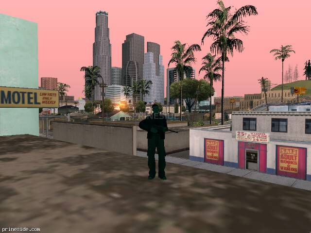 GTA San Andreas weather ID -549 at 7 hours