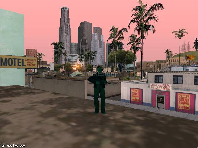 GTA San Andreas weather ID 731 at 8 hours