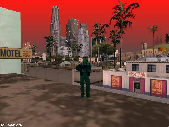 GTA San Andreas weather ID 220 at 20 hours