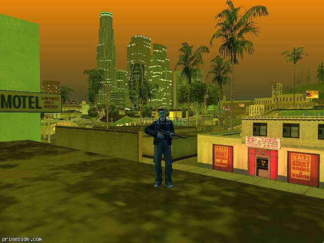 GTA San Andreas weather ID 220 at 21 hours