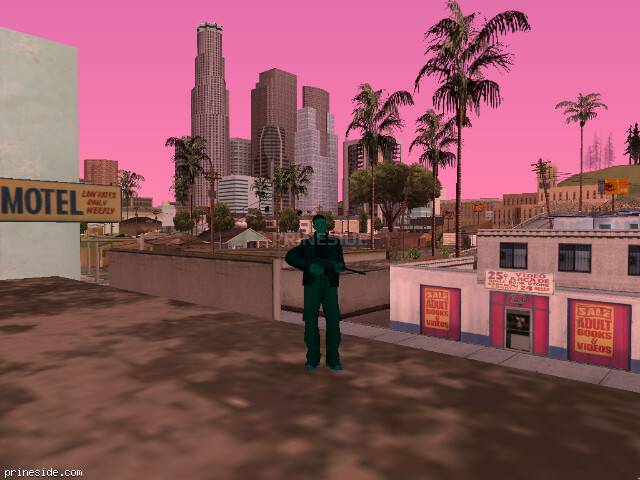 GTA San Andreas weather ID -547 at 10 hours