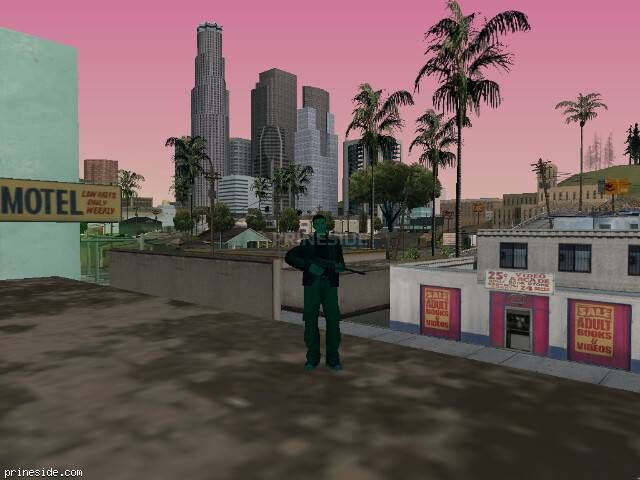 GTA San Andreas weather ID 221 at 14 hours
