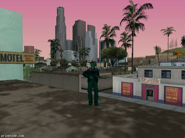 GTA San Andreas weather ID -1059 at 16 hours