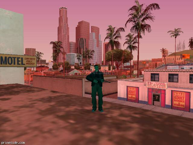 GTA San Andreas weather ID 477 at 19 hours