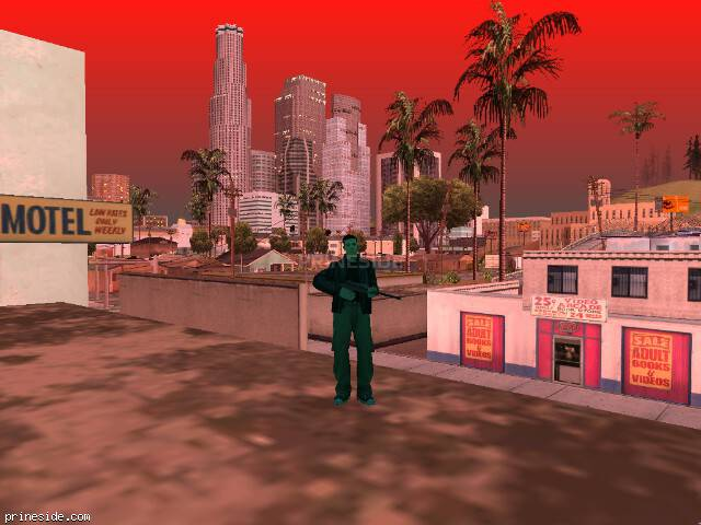 GTA San Andreas weather ID 1501 at 20 hours