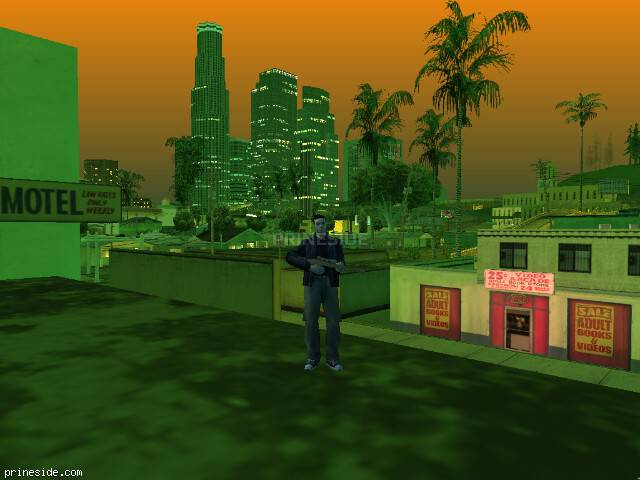 GTA San Andreas weather ID 221 at 21 hours