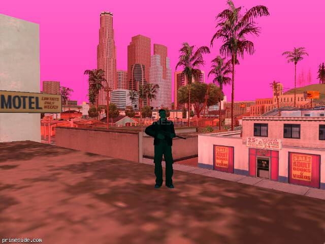 GTA San Andreas weather ID 221 at 7 hours