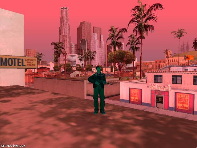 GTA San Andreas weather ID 222 at 11 hours