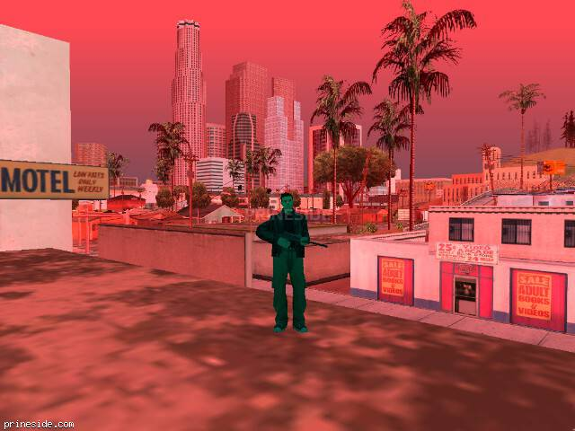 GTA San Andreas weather ID 222 at 13 hours
