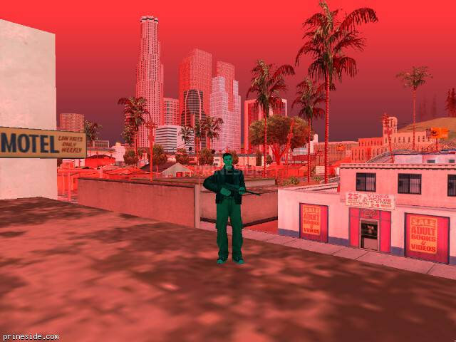 GTA San Andreas weather ID 222 at 17 hours