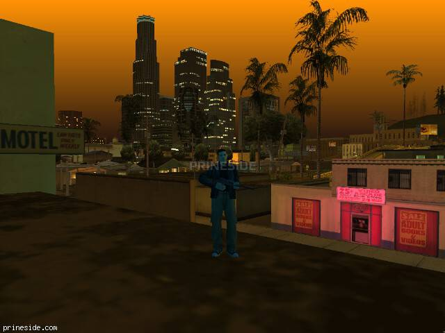 GTA San Andreas weather ID 222 at 21 hours