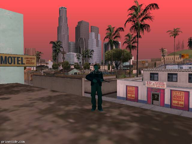 GTA San Andreas weather ID 223 at 11 hours