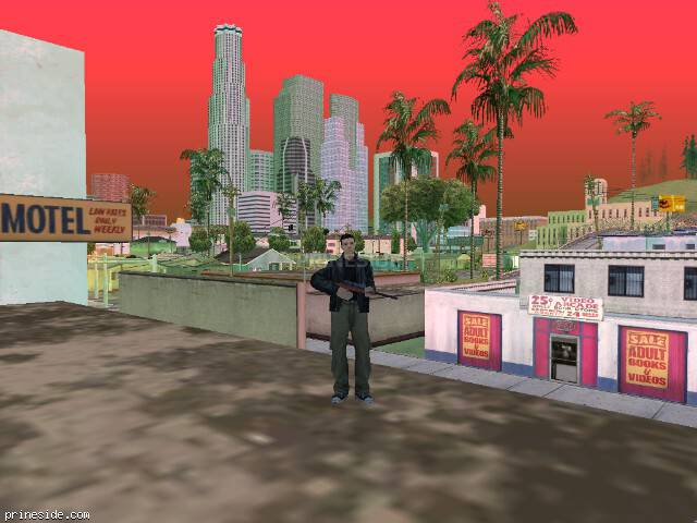 GTA San Andreas weather ID 223 at 16 hours