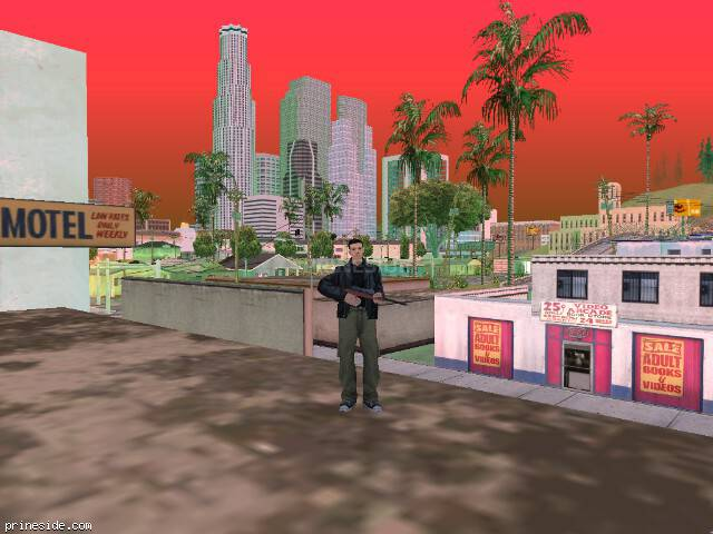 GTA San Andreas weather ID 223 at 17 hours