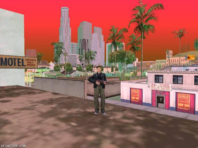 Просмотр погоды GTA San Andreas с ID -289 в 18 часов
