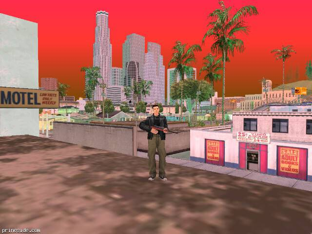 GTA San Andreas weather ID 479 at 19 hours