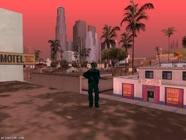 GTA San Andreas weather ID 223 at 8 hours