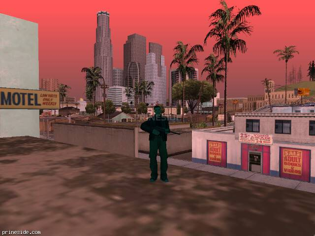 GTA San Andreas weather ID -801 at 9 hours