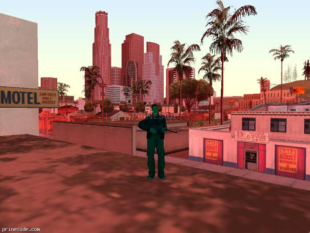 Просмотр погоды GTA San Andreas с ID 480 в 10 часов