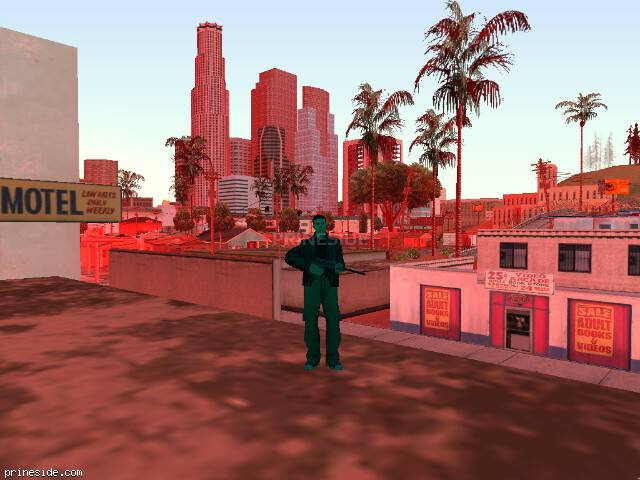 GTA San Andreas weather ID 224 at 12 hours