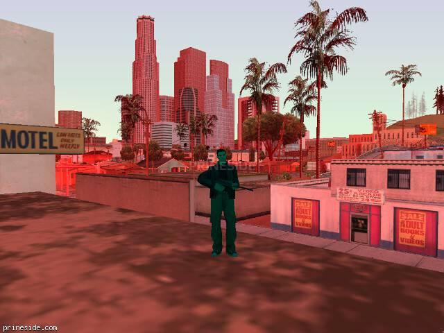 Просмотр погоды GTA San Andreas с ID 224 в 13 часов