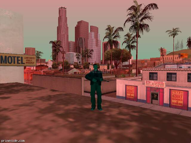 GTA San Andreas weather ID 480 at 16 hours