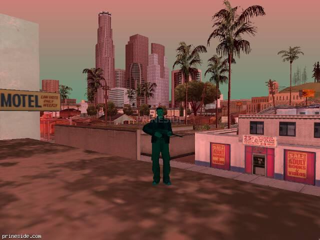 Просмотр погоды GTA San Andreas с ID 224 в 17 часов