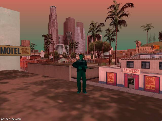 Просмотр погоды GTA San Andreas с ID 224 в 18 часов