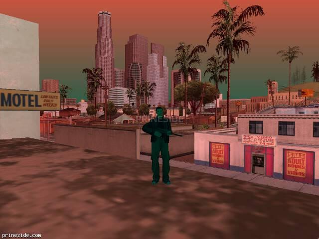 Просмотр погоды GTA San Andreas с ID 480 в 19 часов