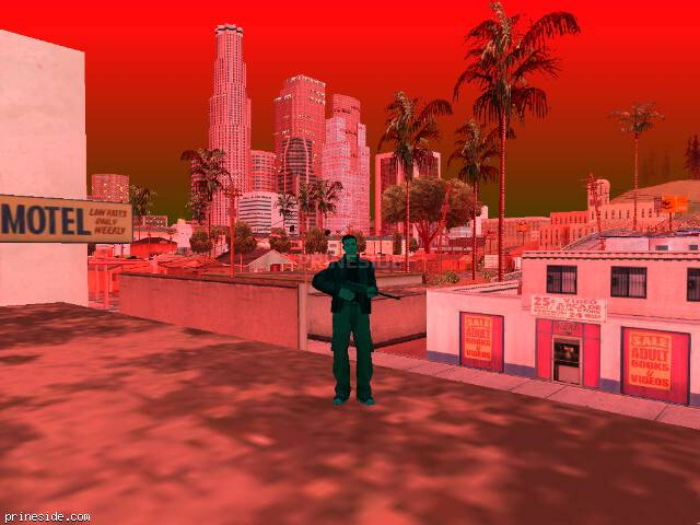 GTA San Andreas weather ID 224 at 20 hours