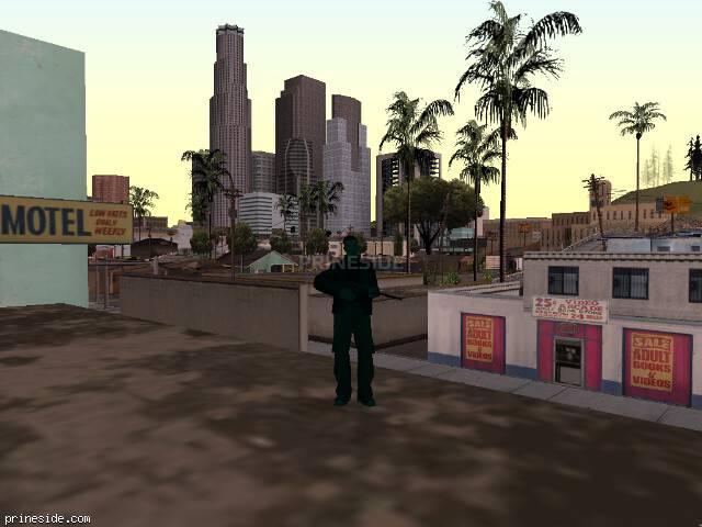Просмотр погоды GTA San Andreas с ID 224 в 7 часов