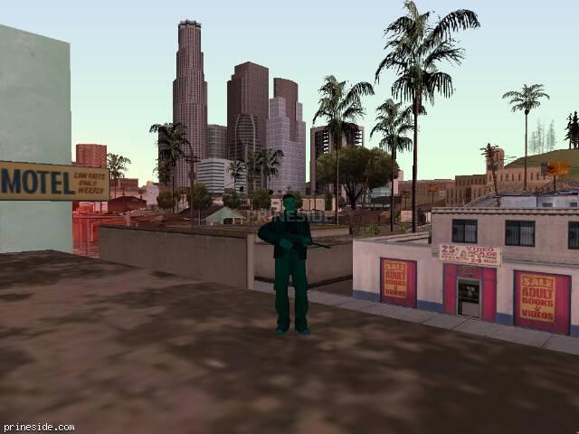 Просмотр погоды GTA San Andreas с ID 225 в 13 часов