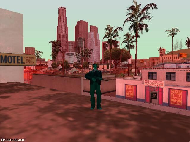 Просмотр погоды GTA San Andreas с ID 225 в 15 часов