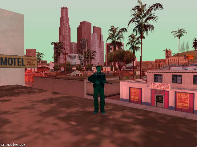 GTA San Andreas weather ID 225 at 16 hours