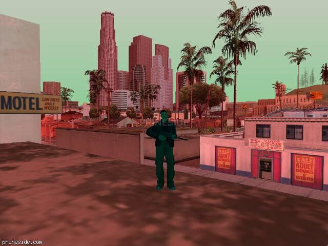 Просмотр погоды GTA San Andreas с ID 225 в 17 часов