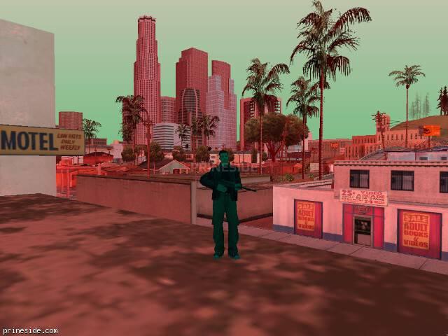 Просмотр погоды GTA San Andreas с ID 225 в 18 часов