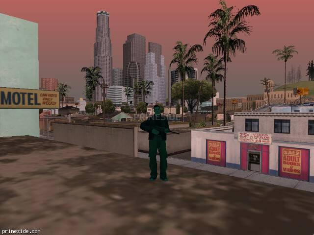 Просмотр погоды GTA San Andreas с ID 226 в 17 часов