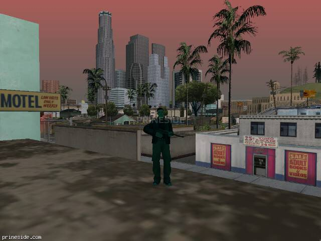GTA San Andreas weather ID 226 at 19 hours