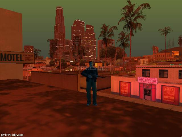 GTA San Andreas weather ID -30 at 21 hours