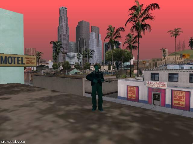 Просмотр погоды GTA San Andreas с ID 1507 в 10 часов
