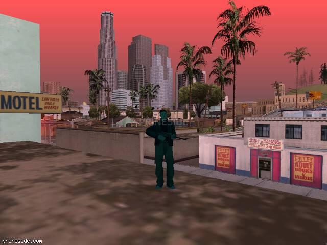 Просмотр погоды GTA San Andreas с ID 1251 в 13 часов