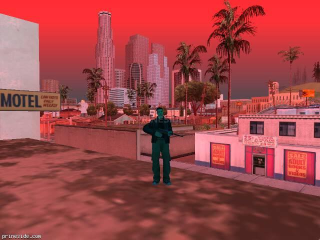 Просмотр погоды GTA San Andreas с ID 227 в 19 часов